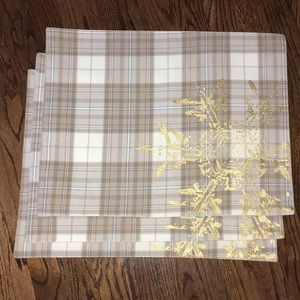 Set of 3 Threshold Placemats